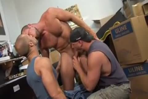 Unforgettable Scenes Of ideal fucking From three-some Body Builders
