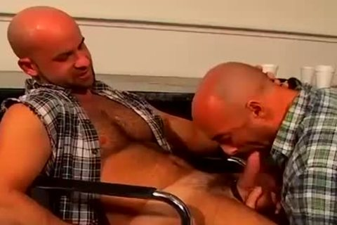 bald bj homo Hunks coarse And raw anal fucking