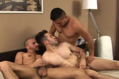 Antonio Biaggi outstanding three-some Creampie Dp monstrous dong humongous Latino