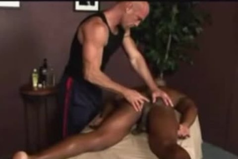 gorgeous Interracial couple Enjoys Massage