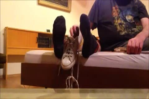 delicious Skater Tickled On His Feet