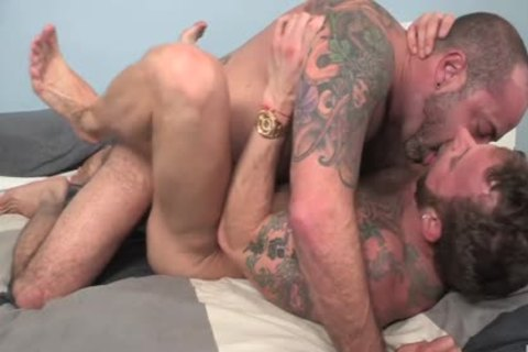 CockSureMen – Scotty Rage Barebacks Derek Parker