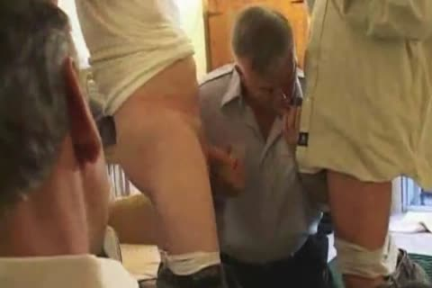 daddy old Suit Silver Daddy Have good Sex In Hotel Room