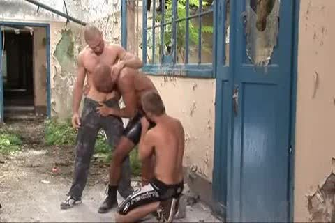 3some Outdoor coarse Sex