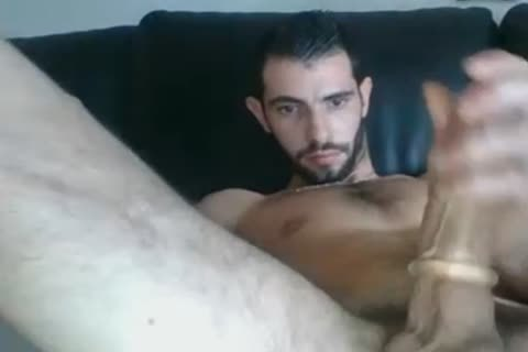 juicy French man Edging With Cockring