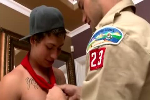 twinks Scout three-some