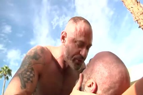 Daddy fucks another Daddy
