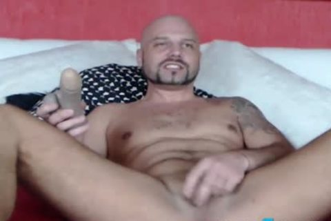 Fetish guy CBT Ball Punching And Gaping butthole Play