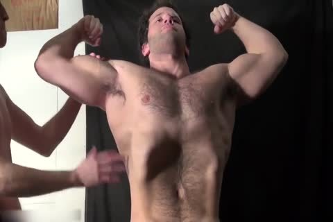 hairy Muscle Hunk Worship